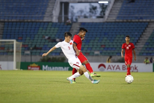 VN defeat Singapore to win Aya Bank Cup