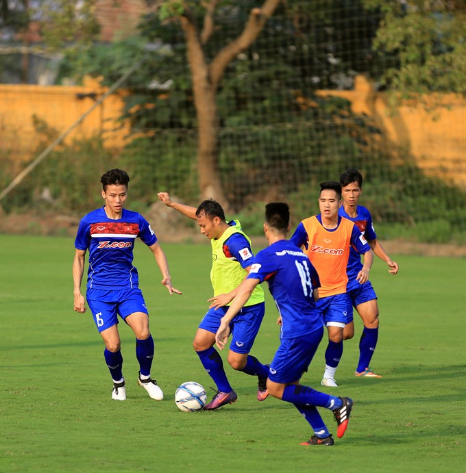 Việt Nam, Chinese Taipei warm-up for Asian Cup