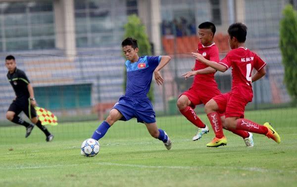 Việt Nam win 5-2 in U15 event