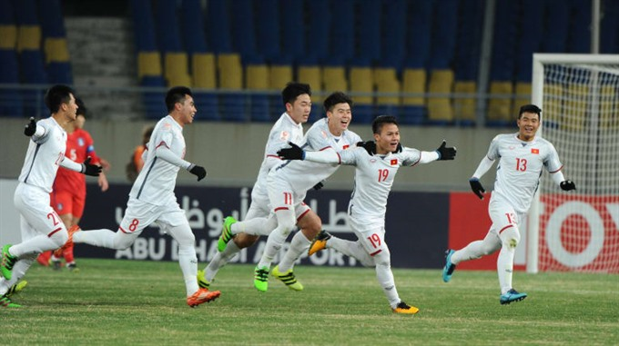 Việt Nam lose to South Korea at AFC event