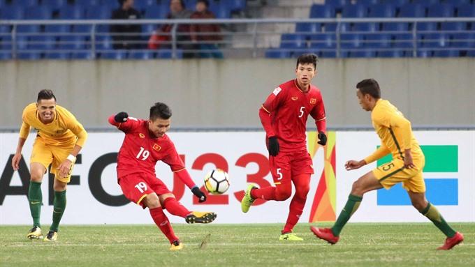 Việt Nam beat Australia 1-0 in AFC U23 tournament