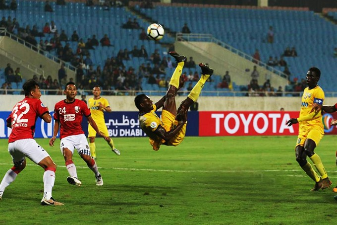 FLC Thanh Hóa failed to get the points needed at Mỹ Đình Stadium