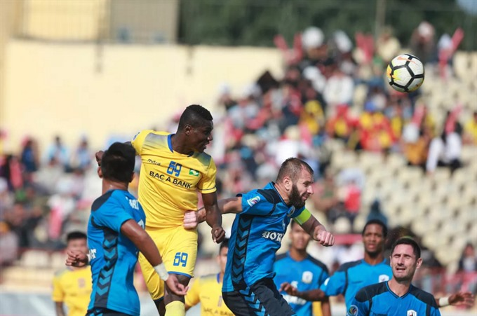 Sông Lam Nghệ An maintain at group top place after win at AFC Cup