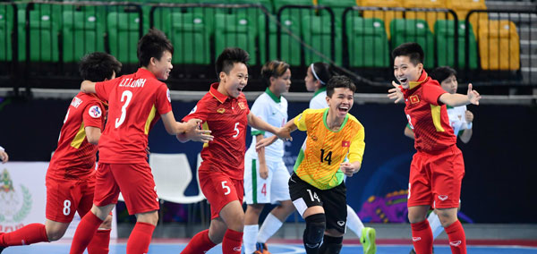 Việt Nam to beat Indonesia in AFC's quarter-finals