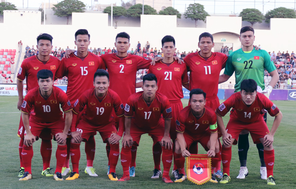 SUZUKI CONTINUES THE SPONSORSHIP WITH VN NATIONAL FOOTBALL TEAMS