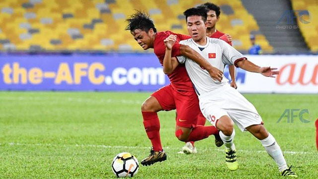 Việt Nam draw with Indonesia at AFC U16 Champs