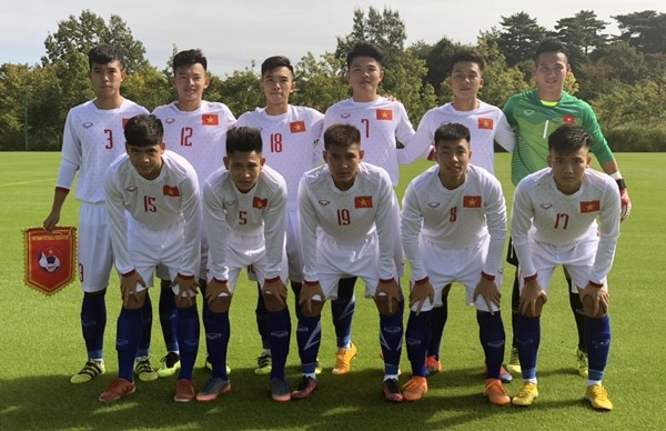 Việt Nam lose to Myanmar in Jenesys football event