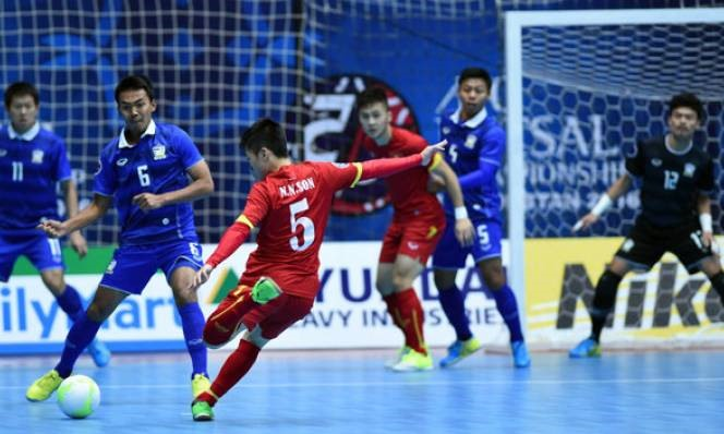 Việt Nam in Group A at AFF futsal champs