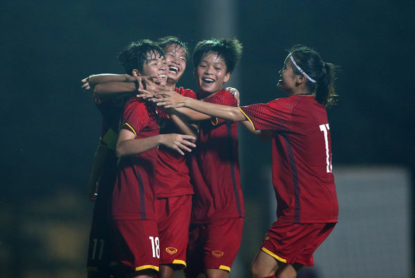 Việt Nam defeat Malaysia at AFC U19 Women's Champs