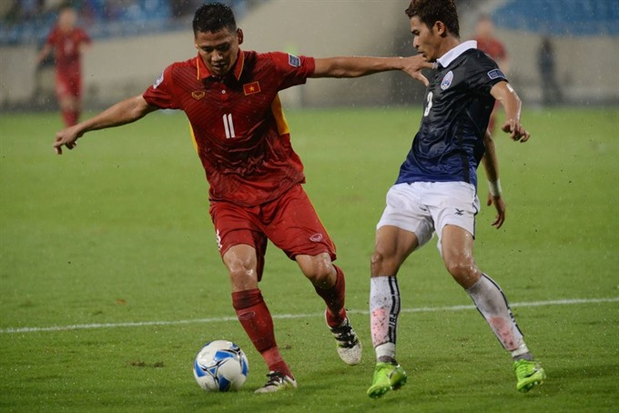 Đức listed one of outstanding forwards at AFF Suzuki Cup