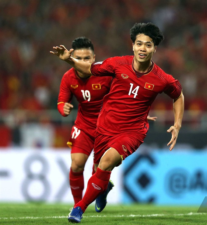 Two Vietnamese players in AFF Cup group round best XI