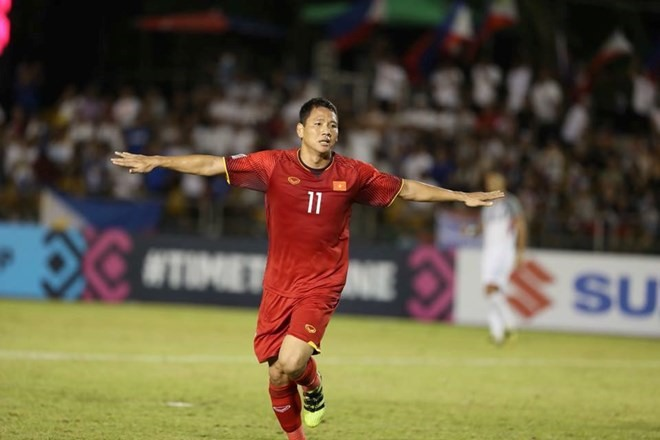Việt Nam take one goal lead into second leg