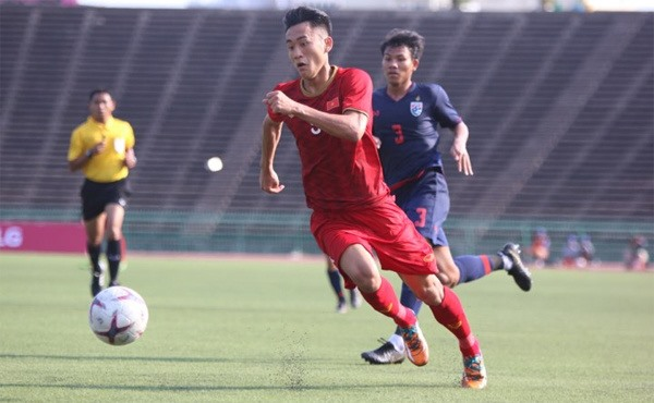 Việt Nam tie with Thailand to top Group A at AFF U22 Cup