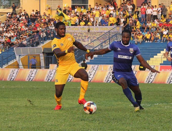 Thanh Hóa vs Bình Dương opens V.League with 1-1 score