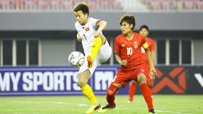 Việt Nam women beat Myanmar in friendly