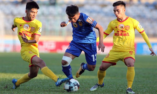 Nam Định to face rivals Hà Nội in V.League