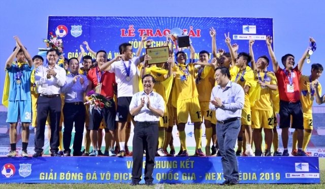 Thanh Hóa crown National U17 Championship