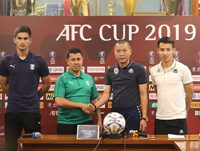 Injury-hit Hà Nội still aiming for cup glory