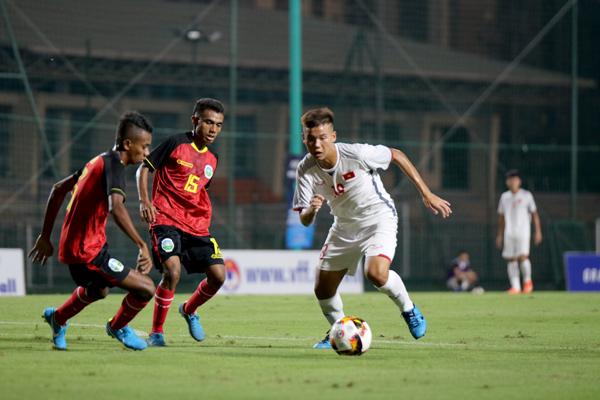 Vietnam beat Timor Leste 2-0 in 2020 AFC U16 Championship qualifiers