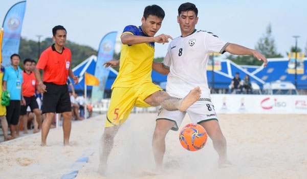 BEACH SOCCER: Thais on course for crown; diffucult for Vietnam